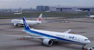 The two leading airlines of Japan