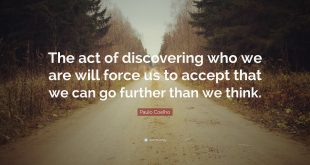 Accept Ourselves as Who We Are