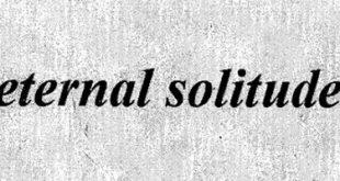 Eternal Solitude
