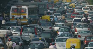 How Traffic Jams Affect Air Quality